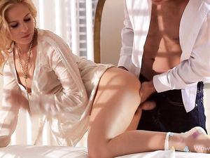 Romantic Seduction And Sex With A Blonde Beauty