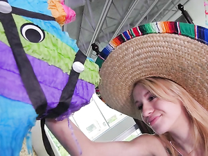 Celebrating Cinco De Mayo By Fucking A Teen Pussy