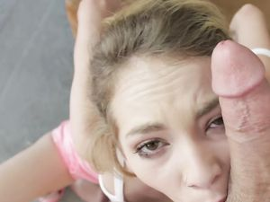 Sporty Young Stepsister Is In Love With Your Dick