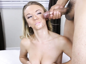 Take A Hot Blonde To Bed And Fuck Her Hard